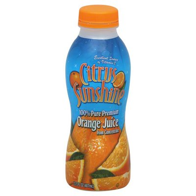 Citrus Sunshine Juice, Orange