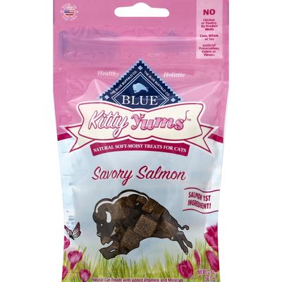 Blue Treats for Cats, Natural Soft-Moist, Savory Salmon