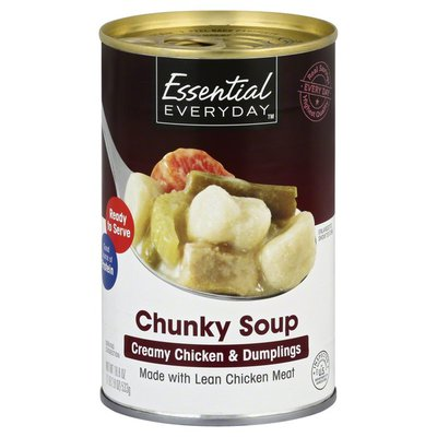 Essential Everyday Soup, Chunky, Creamy Chicken & Dumplings