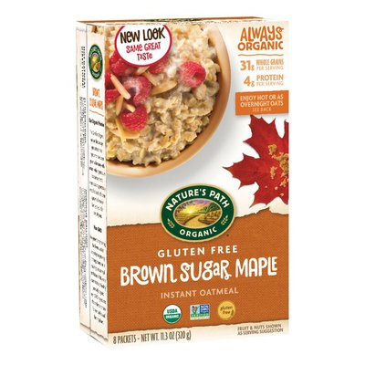 Nature's Path Brown Sugar Maple Instant Oatmeal