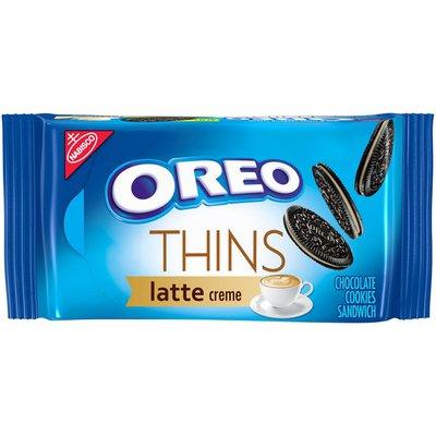 Nabisco Thins Latte Creme Chocolate Sandwich Cookies