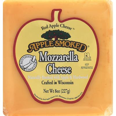 Apple Smoked Cheese Cheese, Mozzarella