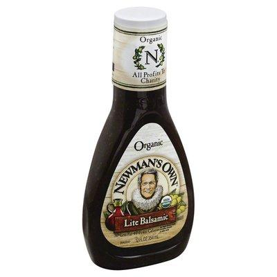 Newman's Own Organic, Salad Dressing, Lite Balsamic, Bottle
