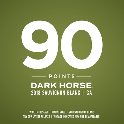 Dark Horse Sauvignon Blanc White Wine
