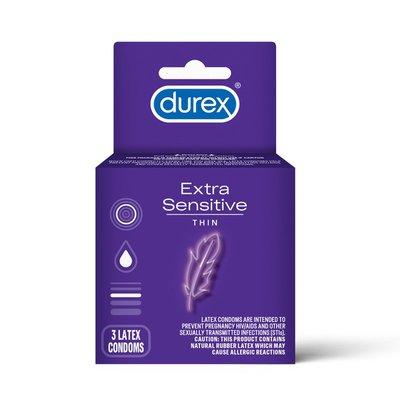 Durex® Extra Sensitive Lubricated Ultra Thin Premium Condoms
