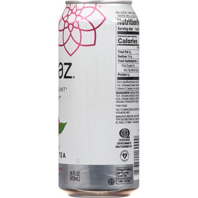 Steaz Green Tea, Raspberry Flavored