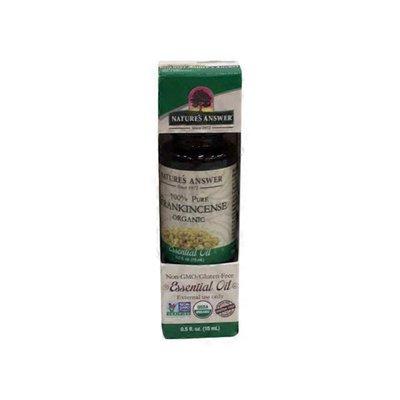 Nature's Answer Organic 100% Pure Frankincense Essential Oil