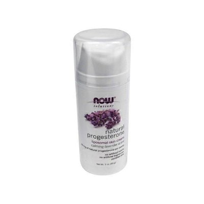 Now Natural Progesterone Balancing Skin Cream, Calming Lavender Scent
