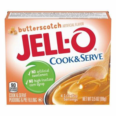 Jell-O Butterscotch Pudding & Pie Filling Mix