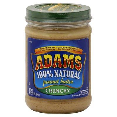 Adams Peanut Butter, Crunchy