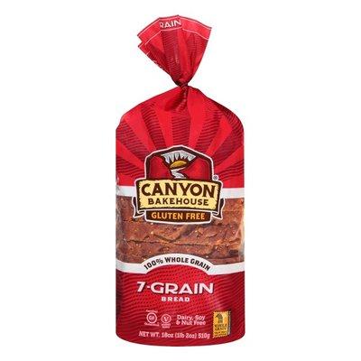Canyon Bakehouse Gluten Free 7-Grain 100% Whole Grain Bread
