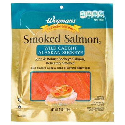 Wegmans Food You Feel Good About Smoked Sockeye Salmon