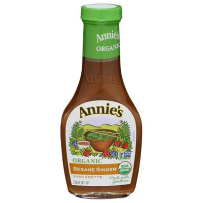 Annie's Vinaigrette, Organic, Sesame Ginger