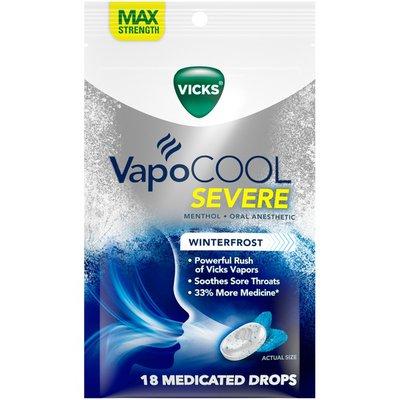 Vicks Vapocool Medicated Drops, Maximum-Strength Relief