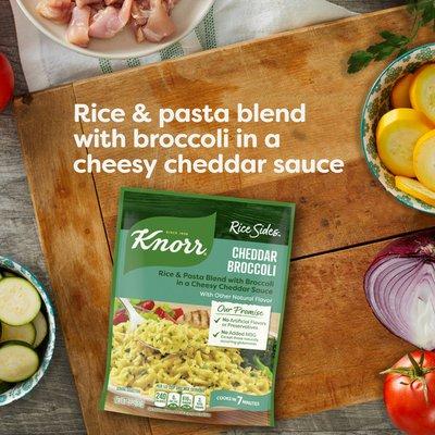 Knorr Rice Sides Cheddar Broccoli Mix