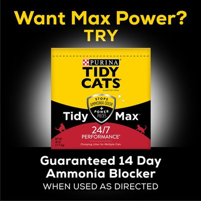 Tidy Cats Clumping Cat Litter, 24/7 Performance Multi Cat Litter