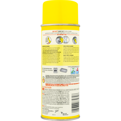 Easy-Off Oven Cleaner Heavy Duty Fresh