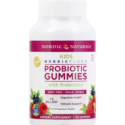 Nordic Naturals Probiotic Gummies, Merry Berry Punch, Kids