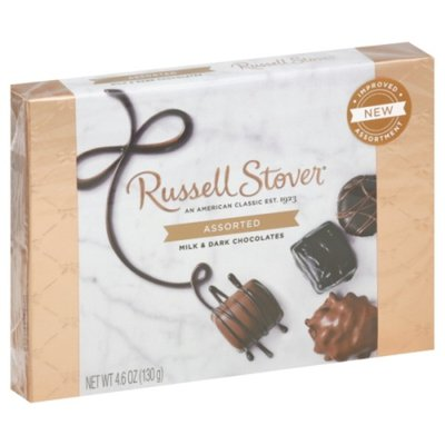 Russell Stover Milk & Dark Chocolates, Assorted