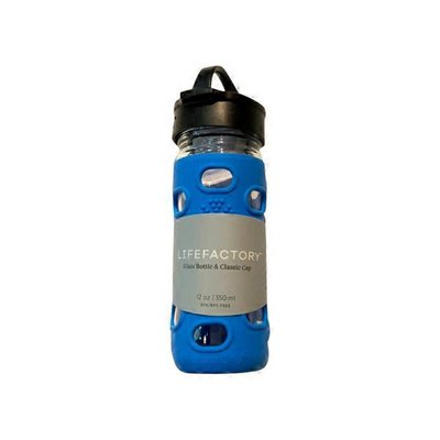 12-Ounce Cobalt Blue Glass Bottle