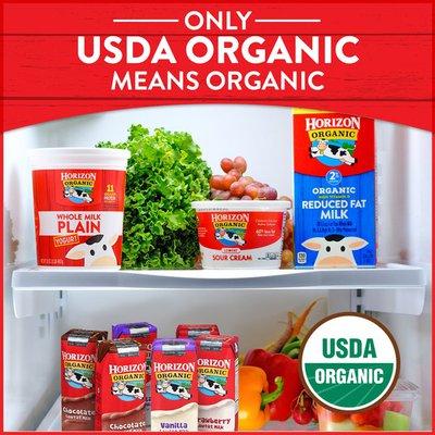 Horizon Organic DHA Omega-3 Vitamin D Organic Whole Milk