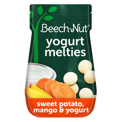 Beech-Nut Sweet Potato, Mango & Yogurt Melties