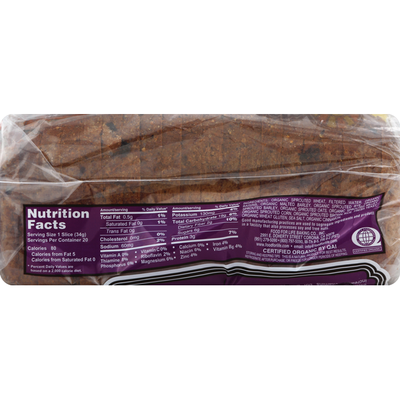 Food for Life Bread, Cinnamon Raisin