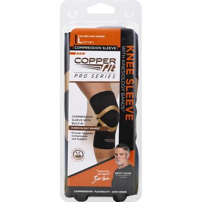 Copper Fit Pro Series Knee Sleeve - L - Black