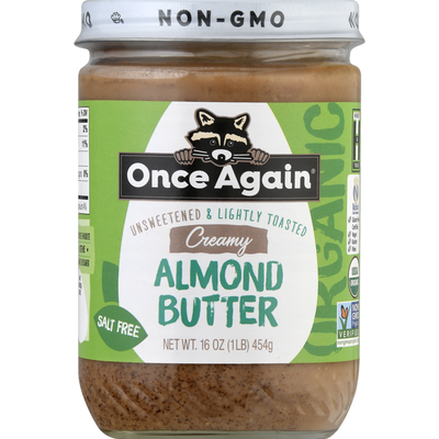 Once Again Almond Butter, Creamy
