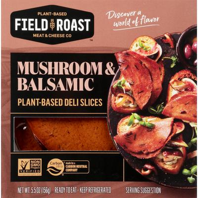 Field Roast Deli Slices, Mushroom & Balsamic, Plant-Based