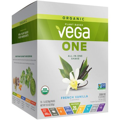 Vega One French Vanilla All-in-One Shake Drink Mix