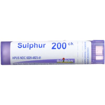 Boiron Sulphur 200C, Homeopathic Medicine for Skin Rash