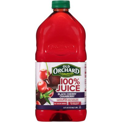 Old Orchard Black Cherry Cranberry 100% Juice