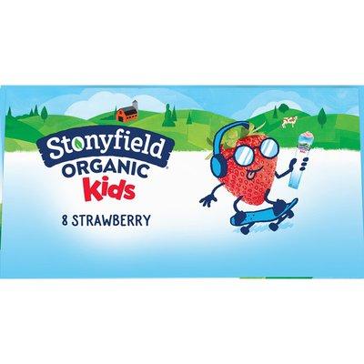 Stonyfield Organic Kids Strawberry Lowfat Yogurt
