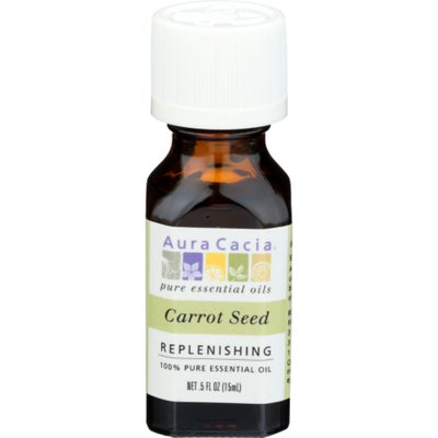 Aura Cacia Replenishing Carrot Seed Pure Essential Oil