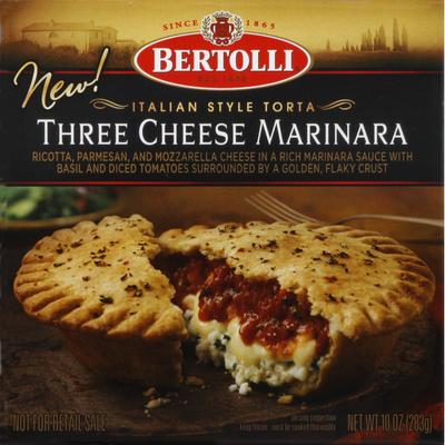 Bertolli Torta, Italian Style, Three Cheese Marinara