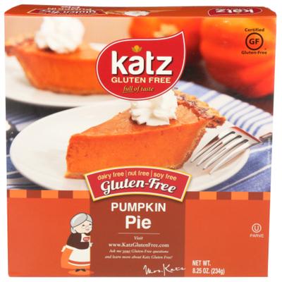 Katz Pie, Gluten-Free, Pumpkin