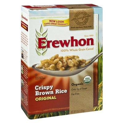 Erewhon Attune Foods Erewhon Organic Original Crispy Brown Rice 100% Whole Grain Cereal