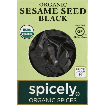 Spicely Sesame Seed, Black, Organic