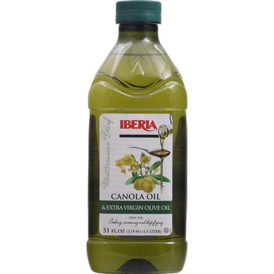 Iberia Canola Oil & Extra Virgin Olive Oil, Mediterranean Blend