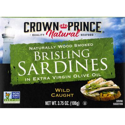 Crown Prince Natural Sardines, in Extra Virgin Olive Oil