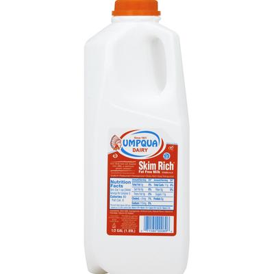 Umpqua Milk, Fat Free