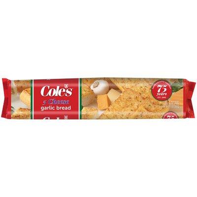 Cole's 5 Cheese Garlic Bread