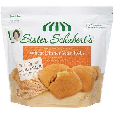 Sister Schubert's Dinner Yeast Rolls, Wheat
