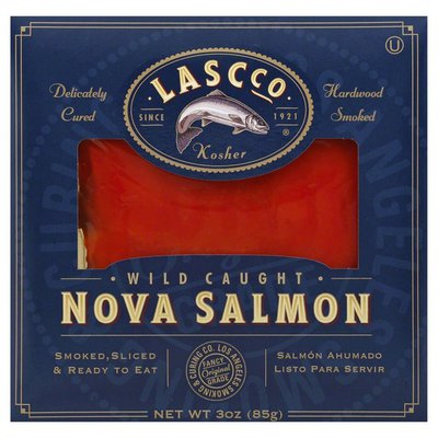 Lascco Wild Caught Keta Nova Salmon