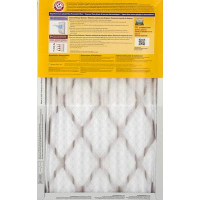 Arm & Hammer Air Filter, Allergen and Odor Reduction, Enhanced 12000, Box