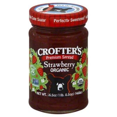 Crofter's Premium Spread, Organic, Strawberry