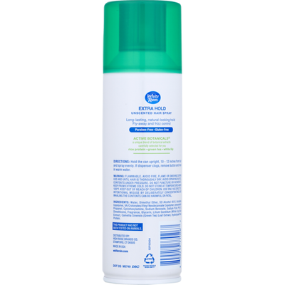 White Rain Extra Hold Hair Spray Unscented