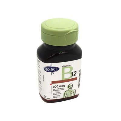 Exact 100 Mcg Vitamin B12