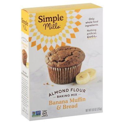 Simple Mills Banana Muffin & Bread Almond Flour Mix